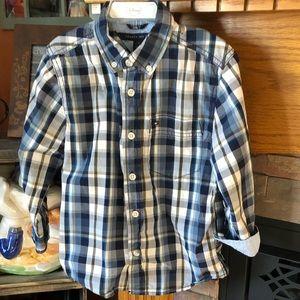 Tommy Hilfiger plain long sleeve shirt